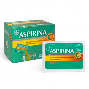 Aspirina 400 mg + 240 mg con vitamina C - 10 bustine granulato effervescente