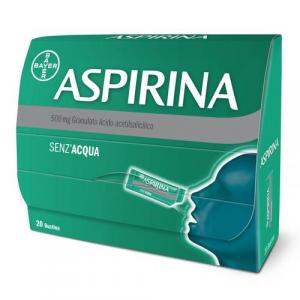 Aspirina 500 mg - 20 bustine granulato
