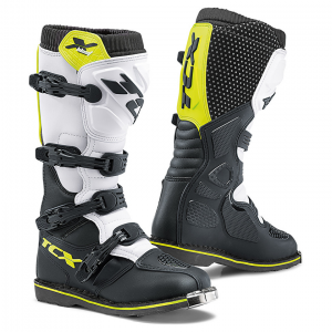 Stivale TCX X-Blast White/Black/Yellow-Fluo