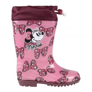 Stivali Pioggia Minnie bambina 24 25 26 27 28 29 30 31 Disney