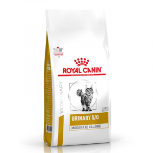 ROYAL CANIN VETERINARY DIETS CAT URINARY S/O MODERATE CALORIE 1,5KG