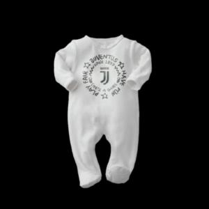 Tutina taglia 3/6 e 6/9 mesi Juventus interlock cotone