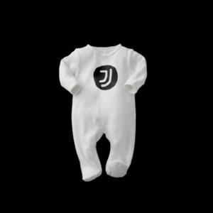 Tutina taglia 3/6 6/9 9/12 mesi Juventus interlock logo