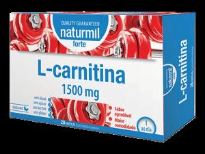 Naturmil L-Carnitina Strong 20 Ampollas