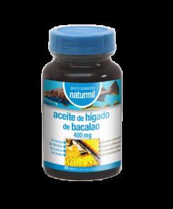 Naturmil Aceite De Higado Bacalao 400 Mg 45 Per