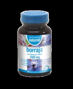 Naturmil Borraja 1000 Mg 30 Perlas