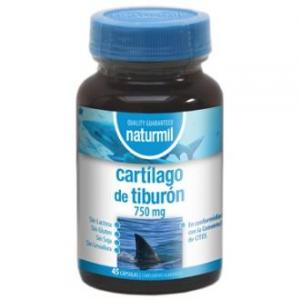 Naturmil Cartilago De Tiburon 750 45 Caps