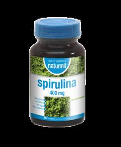 Naturmil Espirulina 400 Mg 90 Caps