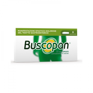 Buscopan 10 mg - 6 supposte