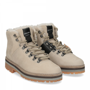 Panchic polacco P09W shearling earth
