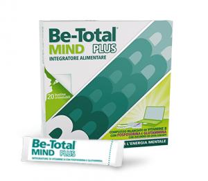 Be Total Mind Plus Integratore per Memoria e Concentrazione-Confezione da 20 bustine