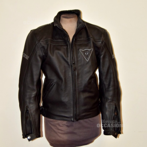 Jacket Motorcycle Man Dainese Black In True Leather Tg 44