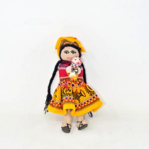 Doll Peruviana 25cm