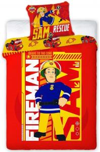 Copripiumino Fireman Sam Biancheria da Letto 140 x 200 cm