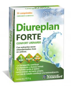 Ynsadiet Zentrum Diureplan Forte 30 Compr