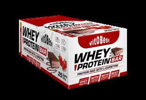 Vit.o.best Caja Barrita Whey Protein Choco 35g 25 Barritas