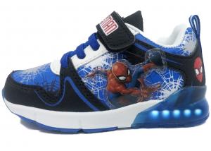 Scarpe Bambino con luci Spiderman Mis. dal 24 al 32 Inverno 2021 Colore Blu