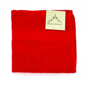 Asciugamano spugna 100% cotone rosso