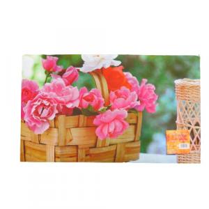 Zerbino tappeto fuoriporta cesto di fiori 45x75