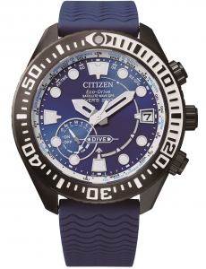 Citizen Promaster Satellite wave marine diver 200 mt. quadrante blu, supertitanio
