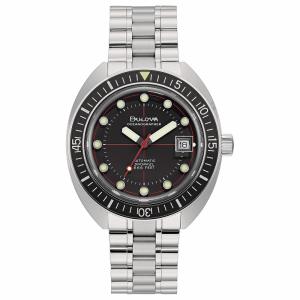 Bulova orologio Oceanographer, meccanico 41mm. (Lunetta nera)