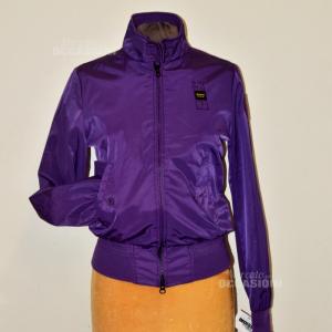 Jacket Woman Blauer Half Stagione Purple Tg S