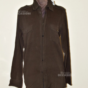 Shirt Woman Dolce&gabbana Brown Made In Italy Tg 39