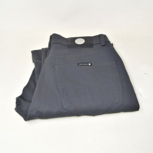 Trousers Woman Gray Dark Tg 29