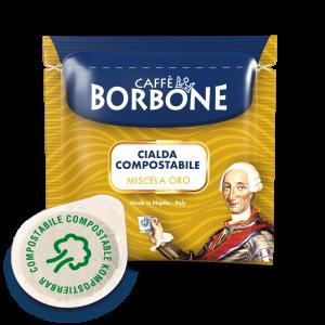 100 Cialde Oro Borbone 44 mm