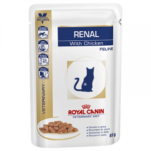 ROYAL CANIN VETERINARY DIETS CAT RENAL BUSTE 85 GR