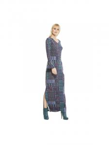 Vestito lungo donna etnico chic | abbigliamento Baba Design online
