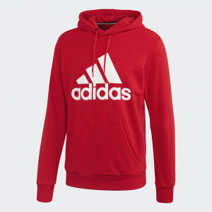 Adidas FELPA CON CAPPUCCIO MUST HAVES BADGE OF SPORT