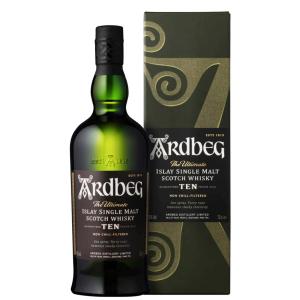 Whisky Ardbeg Islay Single Malt Scotch 10 anni CL.70