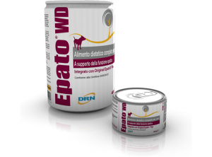 EPATO WET DIET Alimento dietetico completo per cani a supporto della funzione epatica  150-400gr  DRN