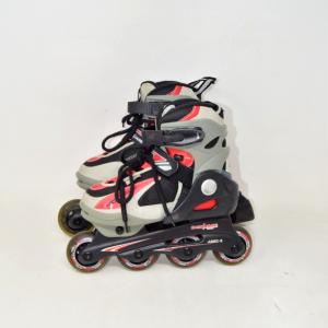 Skates B-square Hyoerbalance Gray N31-33