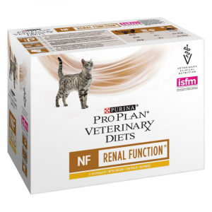 PURINA PRO PLAN VETERINARY DIETS CAT NF RENAL FUNCTION BUSTE 10x85 GR