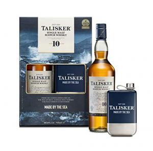 Whisky Talisker confezione bottiglia + fiaschetta CL.70