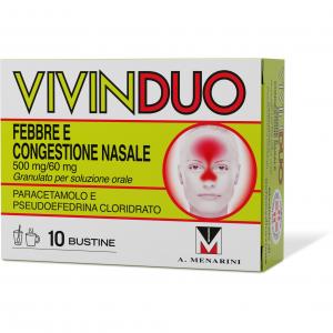 VivinDuo Febbre e Congestione Nasale- 10 bustine