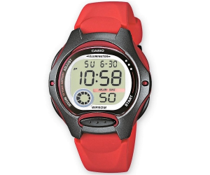 Casio Collection digitale, rosso
