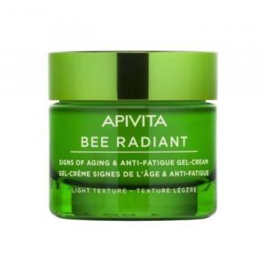 Apivita Bee Radiant Crema Gel Segni Dell'Età E Anti-Fatica Texture Leggera 50ml