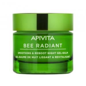 Apivita Bee Randiant Gel-Balsamo Notte Levigante & Riattivante 50ml