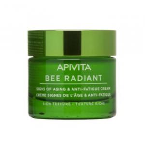 Apivita Bee Radiant Crema Segni Dell'età E Anti-Fatica Texture Ricca 50ml
