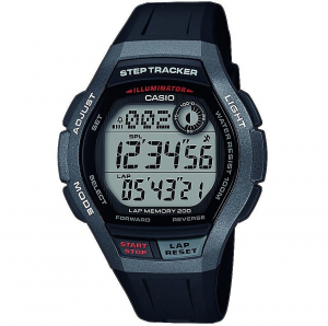 Casio Sports orologio digitale uomo nero