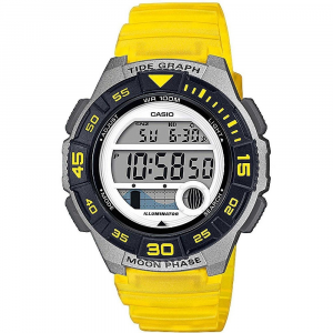 Casio Collection orologio digitale donna, giallo e grigio
