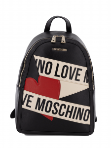 Zainetto Love Moschino JC4029PP1BLD100A Nero/Avorio
