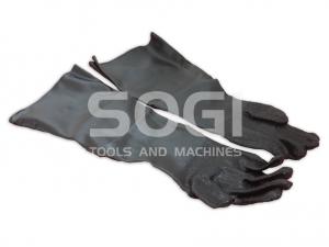 Guanti in coppia ricambi per sabbiatrice professionale SOGI S-100 S-120 S-218 S-320