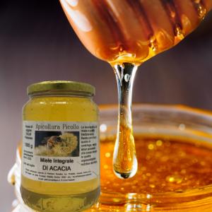 Miele integrale di acacia 1 kg