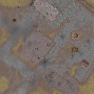 Wargaming MAT - Medieval city 4' x 4'