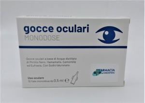 GOCCE OCULARI MONODOSE  Farmacia alla Madonna