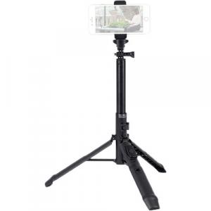 Treppiede portatile  MS-01K per smartphone e mirrorless chiusura ad ombrello con bluetooth